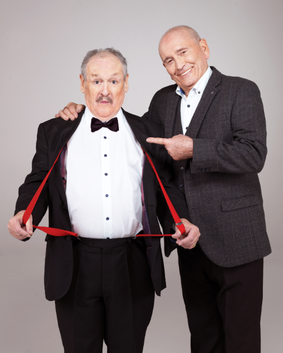 "Tommy & Bobby star in ""An Audience with Cannon & Ball"""